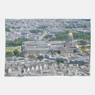 Les Invalides in Paris, France Tea Towel