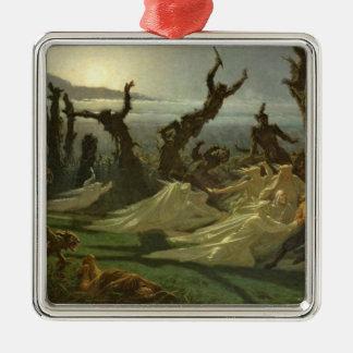 Les Lavandieres de la Nuit  c.1861 Christmas Ornament