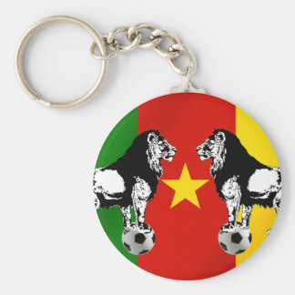 Les Lions Indomables Cameroun 2010 Key Chain
