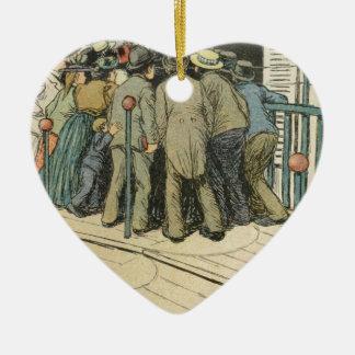 Les Marionnettes de la Vie 1890 - L'Article 330 Christmas Ornament