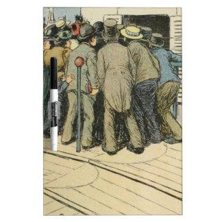 Les Marionnettes de la Vie 1890 - L'Article 330 Dry Erase Whiteboards