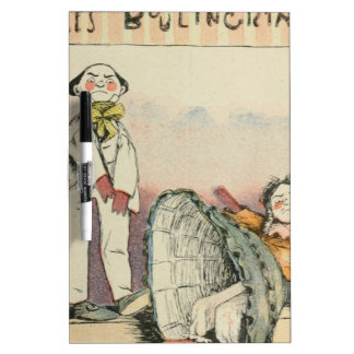 Les Marionnettes de la Vie 1890 - Le Boulingrin Dry Erase Board