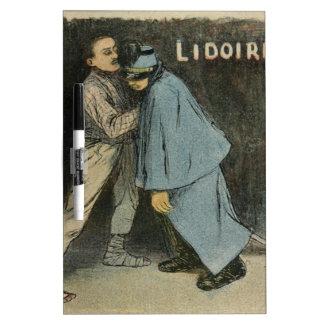 Les Marionnettes de la Vie 1890 - Lidoire Dry Erase Whiteboard