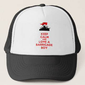 LES MISERABLES BARRICADE BOYS TRUCKER HAT