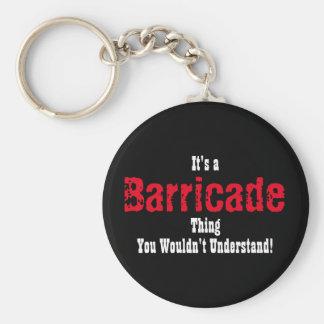 Les Miserables Barricade Keychain