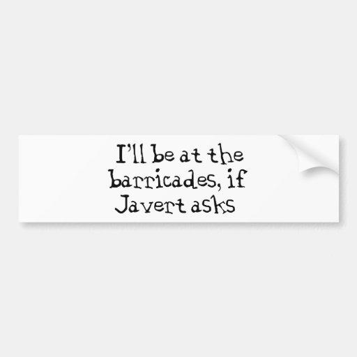 Les Miserables Bumper Stickers