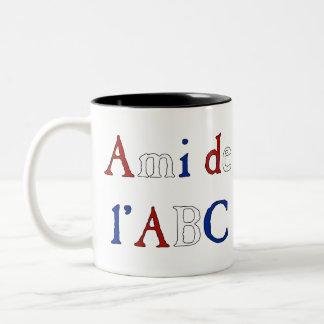 Les Misérables Love Ami de l ABC Mug Tricolor