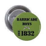 Les Misérables Love: Barricade Boys Button (Green)
