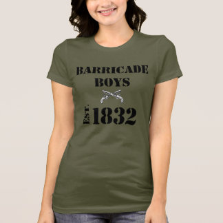 Les Misérables Love: Barricade Boys Shirt (Women)