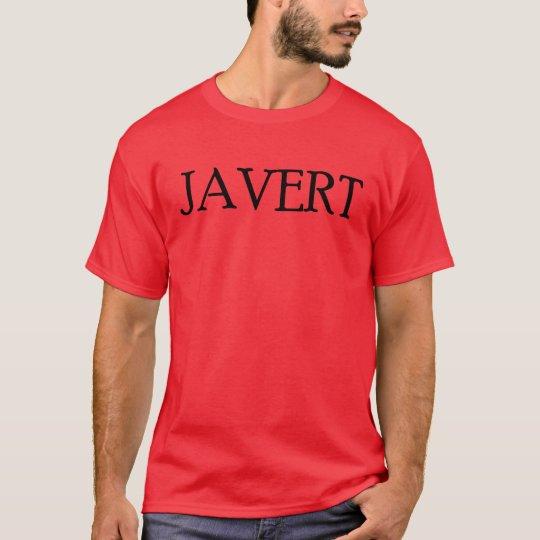 Les Misérables Love: Chicks Dig Javert Shirt
