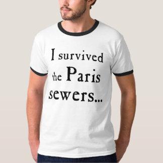 Les Misérables Love: Paris Sewers Shirt