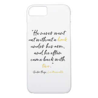 Les Miserables Phone Case Book Quote Victor Hugo