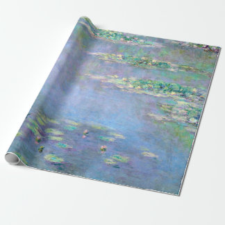 Les Nympheas Water Lilies Claude Monet Fine Art Wrapping Paper