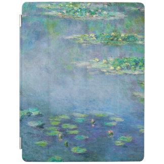Les Nympheas Water Lilies Light Blue Fine Art iPad Cover