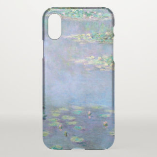 Les Nympheas Water Lilies Monet Fine Art iPhone X Case