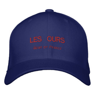 LES OURS, Gear of France Embroidered Hat