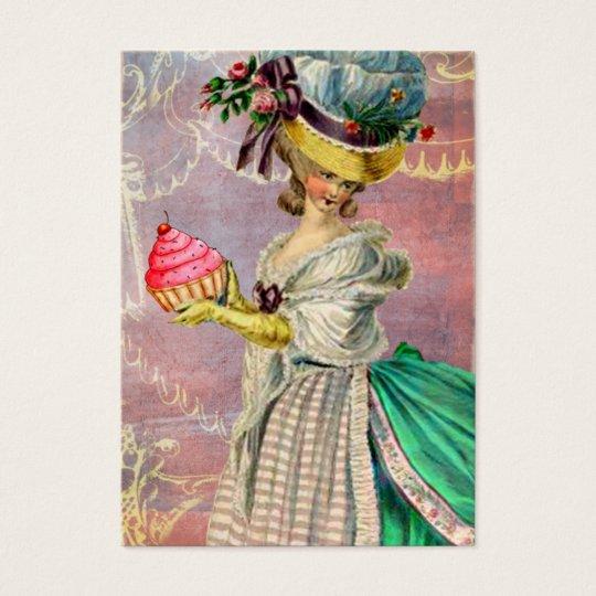 Les Petits Gateaux Marie Antoinette Cupcake & Bird