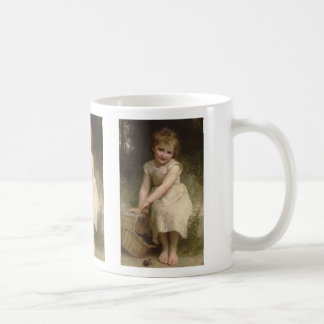Les Prunes (Plums) William-Adolphe Bouguereau Basic White Mug