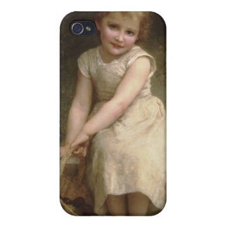 Les Prunes (Plums) William-Adolphe Bouguereau iPhone 4 Covers