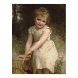Les Prunes (Plums) William-Adolphe Bouguereau Postcard
