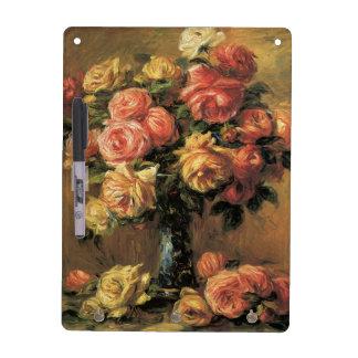 Les Roses dans un Vase by Renoir Dry Erase Board