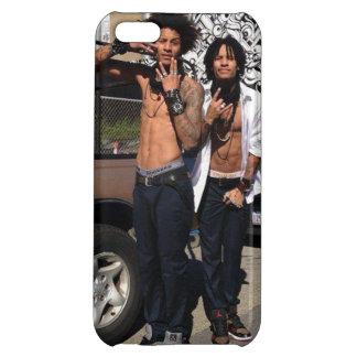 Les Twins Cover For iPhone 5C