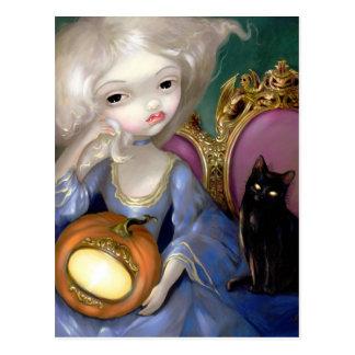 """""""Les Vampires: Lanterne-Citrouille"""" Postcard"""