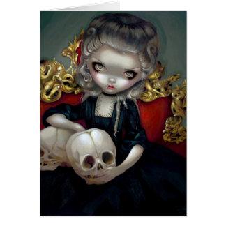 """""""Les Vampires: Les Crânes"""" Greeting Card"""