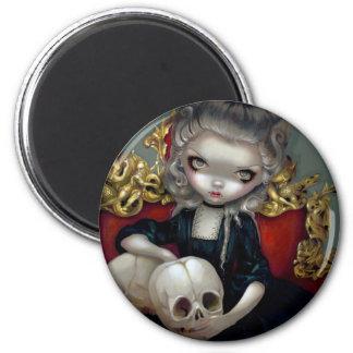 """Les Vampires: Les Crânes"" Magnet"