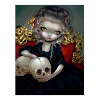 """""""Les Vampires: Les Crânes"""" Postcard"""