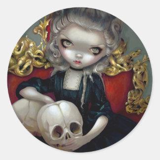 """Les Vampires: Les Crânes"" Sticker"