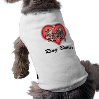 Lesbian Bride & Groom Sleeveless Dog Shirt