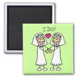 Lesbian Brides Magnet