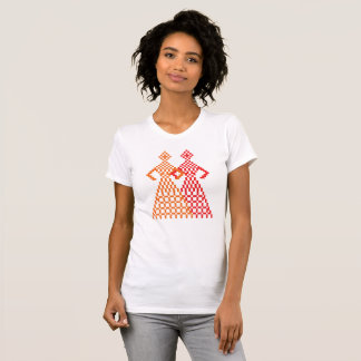 Lesbian couple hand in hand T-Shirt