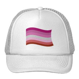 LESBIAN FLAG WAVING HATS