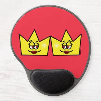Lesbian Lesbian Queen Queen Crown Coroa Gel Mouse Pad