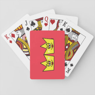 Lesbian Lesbian Queen Queen Crown Coroa Playing Cards