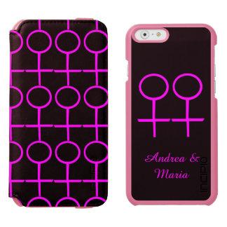 Lesbian Lovers Custom iPhone Wallet Case Incipio Watson™ iPhone 6 Wallet Case