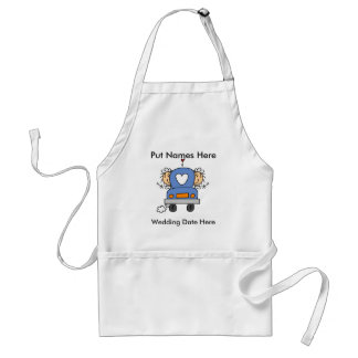 Lesbian Marriage To Customize Standard Apron