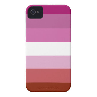 Lesbian pride flag Case-Mate iPhone 4 cases