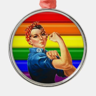 Lesbian Pride Ornament