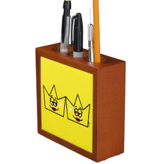 Lesbian Queen Queen Crown Coroa Carries Penxses Desk Organiser