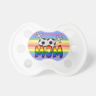 Lesbian Soccer Mom (w/ rainbow) Dummy