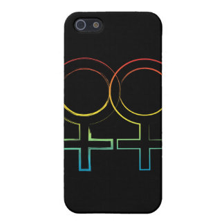 lesbian symbol iPhone 5 cover