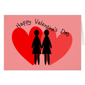 Lesbian Valentine Cards & Gifts
