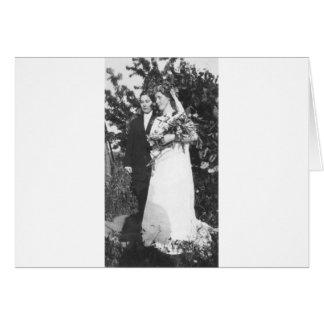 Lesbian Wedding Circa 1920 Card