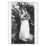Lesbian Wedding Circa 1920 Greeting Card