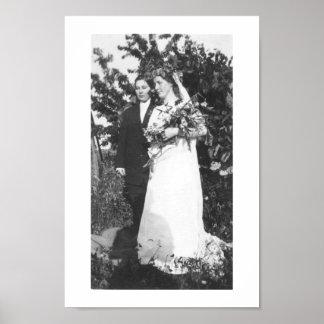 Lesbian Wedding Circa 1920 Poster