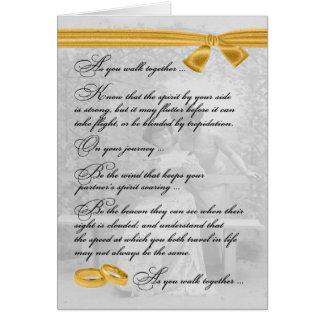 Lesbian Wedding Congratulations Card