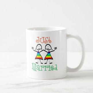 Lesbian Wedding Favors Basic White Mug